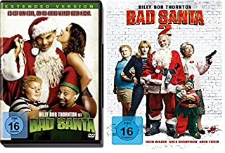 Bad Santa 1+2 im Set - Deutsche Originalware [2 DVDs]