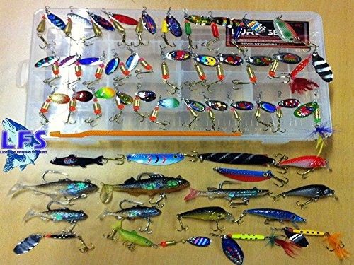Generic dyhp-a10-code-2592-class-1–Ideal Pike Weiche Köder L Pik 51Angelköder Set Löffel S Spinner Set S Wobbler Löffel Hing LU–-dyhp-uk10–160819–622 (Fishing Lure Parts)