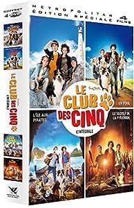Le Club Des 5 - Le Film + Le Club Des 5 En Péril + Le Club Des 5 : L'île Des Pirates + Le Club Des 5 Et Le Secret De La Pyramide