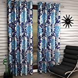 Home Sizzler Set of 2 Long Door Curtains...