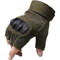 KT-SUPPLY 1 Paio, Special Ops Half Finger, Guanti da Paintball Softair-Gioco Caccia CS-Guanti Senza Dita, per Caccia…
