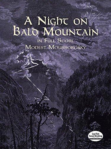 Moussorgsky: A Night On Bald Mountain (Score) (Dover Music Scores)