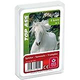 ASS 22571991 Top Ass Hästar Trumf och Kvartett Spel, 17 x 65 x 97 mm