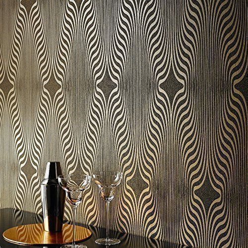 grandeco-deco-zebra-stripe-designer-glitter-textured-blown-vinyl-wallpaper-black-gold-bob-19-05-5