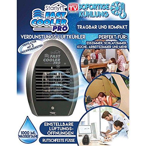 starlyf® Fast Cooler Pro–Aire acondicionado portátil Aire enfriador con enfriamiento de agua–Original de TV de publicidad