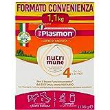 Plasmon Nutri-Mune 4 Latte di Crescita in Polvere, 1100g
