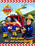 Feuerwehrmann Sam Malbuch: Mein großes Mal- u...Vergleich