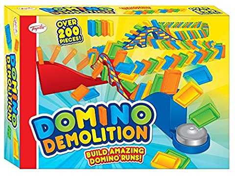 Toyrific Domino Demolition