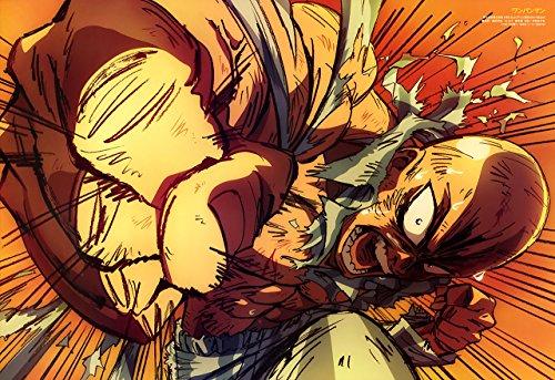 Poster One Punch Man - Saitama A3 (42x30 cm) B