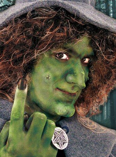 Nase Kostüm Latex - Unbespielt Halloween Karneval Party Kostüm Hexen Nase Hochwertige Charakternase aus Latex für Erwachsene