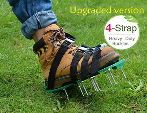lawn-aerator-shoes-sftlite-garden-spiked-sandals-4-adjustable-straps-and-heavy-duty-zinc-alloy-buckl