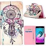 Dooki, Galaxy A5 2016 Coque, Portemonnaie Flip PU Cuir Housse Coque Étui Etui pour Samsung Galaxy A5 2016 Avec Carte Tenant Fente Supporter (A-2)