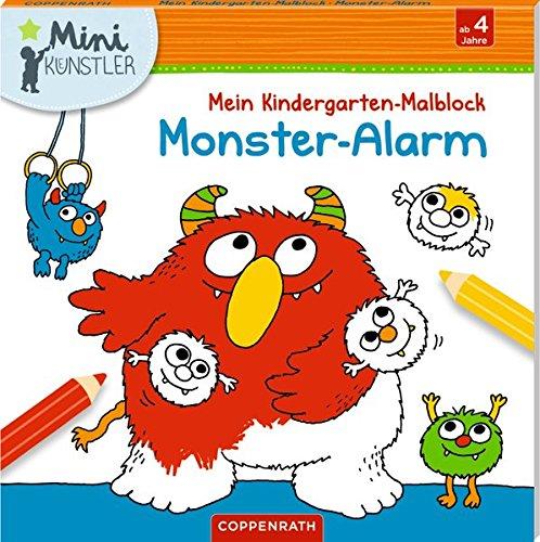 Mein Kindergarten-Malblock: Monster-Alarm (Mini-Künstler)