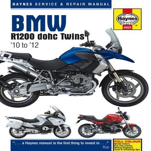 BMW R1200 dohc Twins: '10 to '12 (Haynes Service & Repair Manual) by Editors of Haynes (2013-04-15)