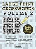 Large Print Crosswords Volume 2