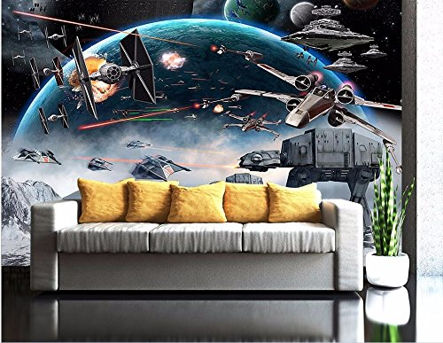 WH-PORP Custom Mural Photo 3D tapete Cartoon Shock Star Wars Picture Room-300cmX210cm