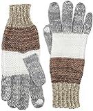 s.Oliver Damen Handschuhe 39.510.96.3092, Gestreift