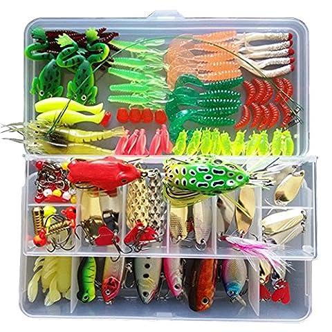 Lokep Kit de 132leurres de pêche