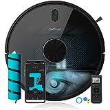 Cecotec Robot Aspirador Conga 5090. App con hasta 5 mapas. Aspira, Barre, Friega y Pasa la Mopa. Alexa y Google Assistant. Ce