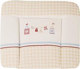 roba Wickelauflage, weiche Wickelauflage 85 x 75 cm, Wickeltischauflage, in verschiedenen Designs erhältlich