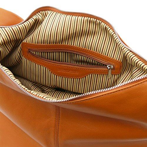 Tuscany Leather Yvette - Borsa in pelle da donna Cognac Borse donna a tracolla Cognac