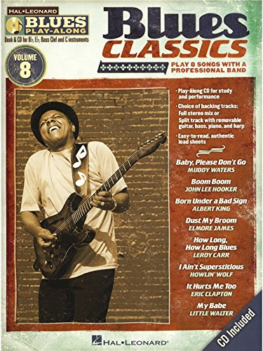 Blues Play-Along Volume 8: Blues Classic...