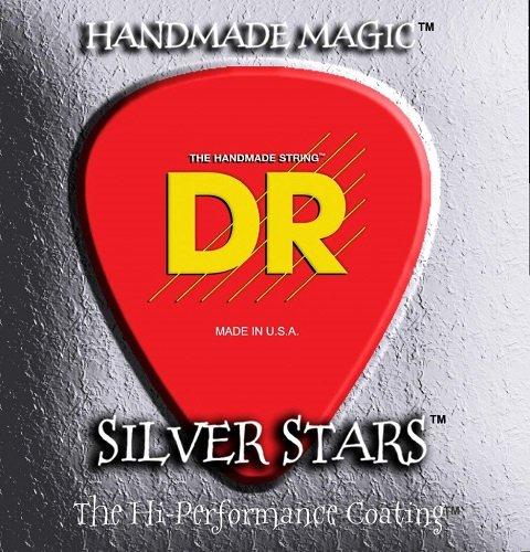 DR HANDMADE DE 5STRING SILVER STARS 45–125DE 5COATED CUERDAS PARA BAJO