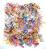 Everything Equine Bänder für Pferdemähne, aus Silikon, 1000 Stück
