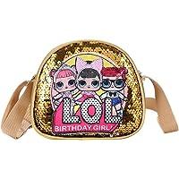 LDYQ LOL-Surprise Mädchen Handtasche für Kinder, LOL Toys for Girls Pink Crossbody Handtasche, LOL Geschenke für Mädchen…