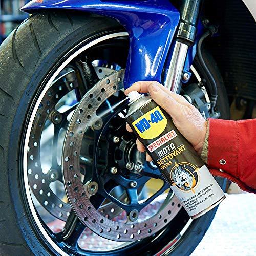 WD-40 - Nettoyant pour Freins Specialist Motorbike 500 ML (boîte de 6 unités)