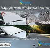 Copertura magnetica Starmo per parabrezza auto, protegge dal sole, ghiaccio, gelo e neve, schermo per tutte le condizioni meteorologiche