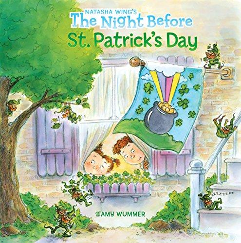 The Night Before St. Patrick's Day (Reading Railroad Books) por Natasha Wing