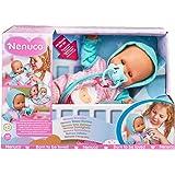 Nenuco - Dormilón, muñeca de bebé Que Duerme y Cierra los Ojos, con Chupete y Pijama, Juguete indicado para el Desarrollo afe