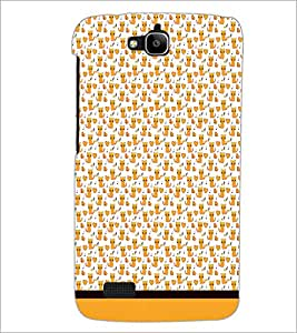 PrintDhaba Kitty pattern D-1779 Back Case Cover for HUAWEI HONOR HOLLY (Multi-Coloured)
