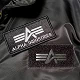 Alpha Industries Flight Jacket CWU 45 Top Gun Bomber Jacke aus Nylon hat ein warmes Steppfutter mit Polyesterfüllung Pilotenjacke - 4