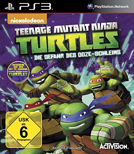 (Teenage Mutant Ninja Turtles - Die Gefahr des Ooze-Schleims - [Playstation 3])