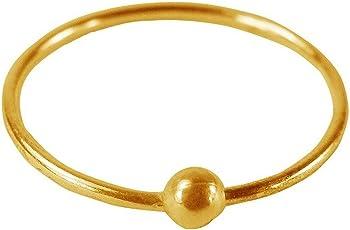 ELOISH Gold Ball Nose Ring for Women