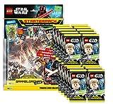 Unbekannt Lego Star Wars - Serie 1 Trading Cards - 1 Starter + 20 Booster - Deutsch