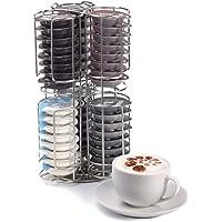 Kabalo Acier Inoxydable 48 dosettes de café Capsule Support et Distributeur pour Tassimo