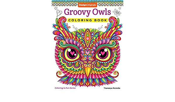Buy Groovy Owls Coloring Book Is Fun Online At Low Prices In India