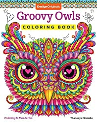 Groovy Owls Coloring Book (Coloring Is Fun)