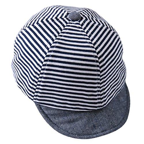 Lukis Baby Mütze Schirmmütze Sommer Kindermütze Schiebermütze Blau 50cm