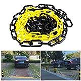 Plastique Chaîne antivol Barrière de parking Commercial Trafic de sécurité pour support d'avertissement Isolation Arrêt 4m/4m Colonne Route Piquet