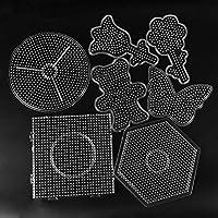 Deanyi Puzzle Toy 5 mm Perles Hama Pegboard Jouet Outil éducatif Perles Tangram Puzzle Modèle Enfants Jouet pour Enfants…