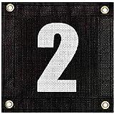Tourna Windscreen Court Numbers - #2 Windscreen Court Numbers