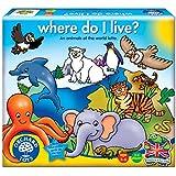 "Orchard Toys ""Where Do I Live"" Lotto Game (Multi-Colour)"