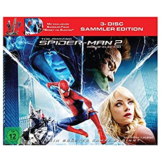 The Amazing Spider-Man 2: Rise of Electro (Figur Spidey vs. Electro +Blu-ray  und Bonus-Blu-ray)