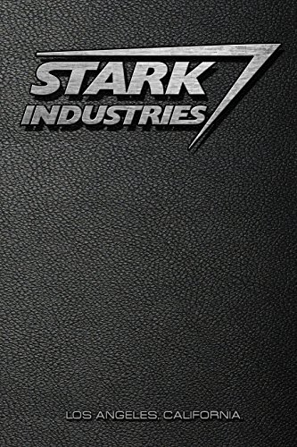 Stark Industries: Iron Man / Marvel Notebook por Replica Notebooks