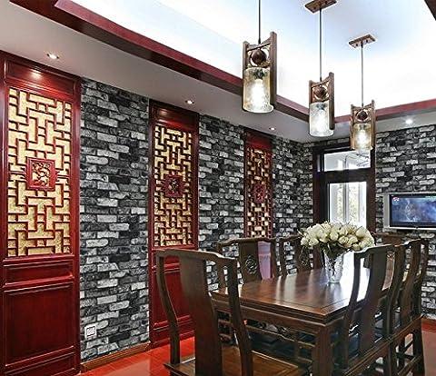 Hy-the Mur de brique papier Brick-brick papier mural Restaurant le Restaurant décoré dans des bars et restaurants Fond papier peint C
