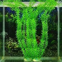 verde artificial planta de hierba de plstico para fish tank acuario decoracin adorno decoracin